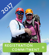 2017 Climb to Fight Cancer Registration Commitment