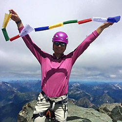 Climb to Fight Cancer: at the summit