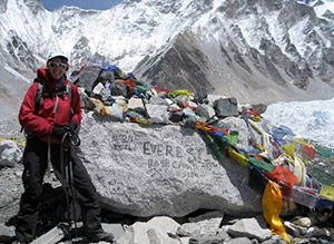 Climb to Fight  Cancer Mt Everest photo
