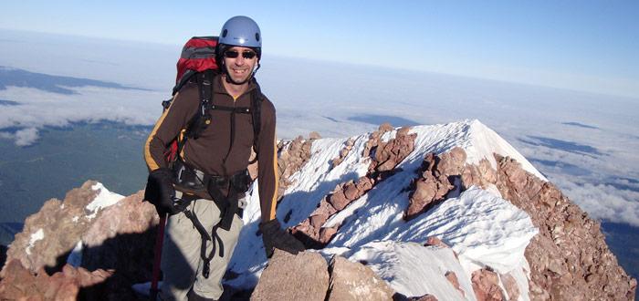 Luke Timmerman at a summit